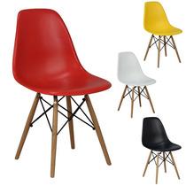 Cadeira New Wood Eiffel Charles Eames Em Pp - Promoção + Nf