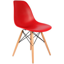 Cadeira Charles Eames Eiffel Dkr Wood Desing - Base Madeira