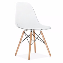 Cadeira Eames Eiffel Tranparente Com Pequenos Defeitos