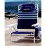 Cadeira Praia Dobrável Espreguiçadeira 5 Posições Náutica A