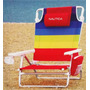 Cadeira De Praia Nauticaessex Bolsa Térmica E Porta Copo