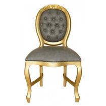 Cadeira Medalhão Entalhada Da Fabrica Varias Pinturas Nova