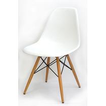 Cadeira Dkr Charles Eammes Wood Design Base Madeira