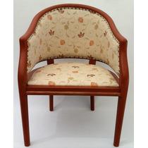 Cadeira Poltrona Madeira Art Deco Restaurada