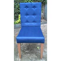Cadeira Estofada Para Sala De Jantar