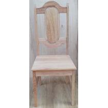 Cadeira Para Mesa,em Madeira Mista - Crua(sem Acabamento)