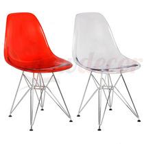 Cadeira New Em Pc Eiffel Charles Eames- Mostruario Show Room