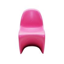 Cadeira Panton Kids Pink Em Abs