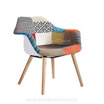 Cadeira Mônaco Patchwork Wood