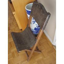 Raro Par De Cadeiras De Sacristia Do Séc.xviii