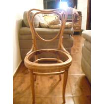 Cadeira Antiga Austríaca Centenária Perfeita