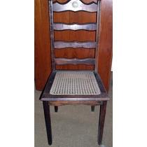 Cadeira Individual Antiga Palhinha Sintética