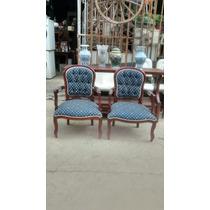 Par Cadeiras De Braço Luis Xv Antigas Antiquario Breshopping