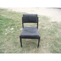 Antiga Cadeira Anos 50 Em Madeira Nobre (cod.104)