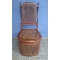 Espetacular E Unica Cadeira Pinho De Riga E Palhinha Indiana