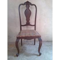 Cadeira Est. Luis Xv Em Peroba Do Campo