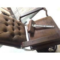 Cadeira De Barbeiro Restaurada Frete Grátis Parcelo Em 12x