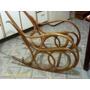 Cadeira De Balanço Antiga,gerdau Madeira Vergada, Restaurada