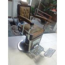Cadeira De Barbeiro Restaurada Campanille