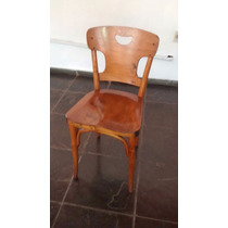 Cadeira De Madeira Anos 60