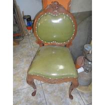 Cadeira Em Madeira Clara Estilo Chipandele