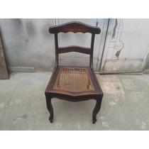 Conj. 4 Cadeiras Estilo Mineira Em Madeira Maciça