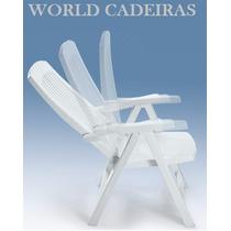 Poltrona Cadeira De Plastico Reclinavel