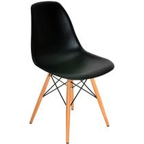 Jogo 2 Cadeiras Charles Eames Eiffel Base Madeira Fretgrátis