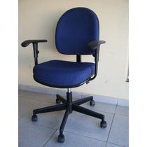 Cadeira Poltrona Giratória Giroflex Polytrop Semi Nova