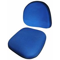 Conjunto Assento E Encosto Para Cadeira Executiva Anatômico