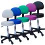 Cadeira Mocho Para Dentista Tatuador Massagem Regulagem Gás