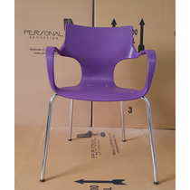 Cadeira Jim Tubular Em Polipropileno - Novo Padrão Vivo