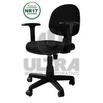 Cadeira Executiva Giratória Braços Reguláveis Back System