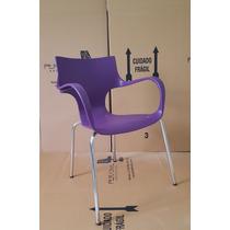 Cadeira Jim Tubular - Loja Vivo Roxa/púrpura