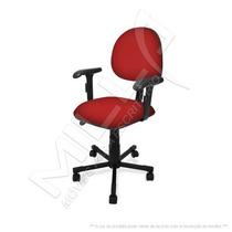 Cadeira Executiva Giratória Com Braço Regulavel Injetada