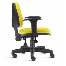 Cadeira Ergonomica Back System Sky Espaldar Médio C/ Braços