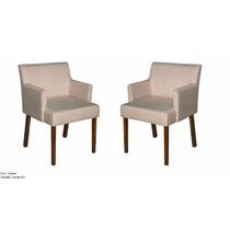 Cadeira Para Mesa De Jantar Império Kit C/2 - Mobillare