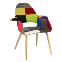 Cadeira Jade Patchwork Charles Eames - Cozinha/jantar/lazer