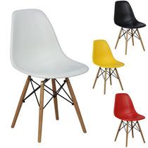 Cadeira New Wood Eiffel Charles Eames Em Pp - 12x Sem Juros