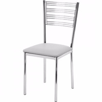 Cadeira Gold Em Aço Inox Aisi 304| Polido| 100 X 40 X 40 Cm