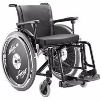 Cadeira De Rodas Alumínio, Tam 44, Preto Agile Frete Grátis