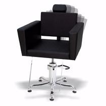 Cadeira Cabeleireiro Hidráulica Kixiki Niágara Reclinável -