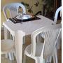 Jogo De Mesa Com Cadeiras Plásticas Eventos - Festas - Bar