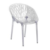 Cadeira Em Policarbonato Crystal Transparente Promoção