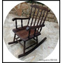Cadeira Balanço - Colonial Ingles - Antiquário Brasil.