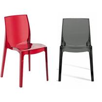 Cadeira Transparente Acrilico Policarbonato - Femme Fatale