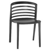Cadeira Gabriela Estrutura De Polipropileno C/ Fibra De Vidr