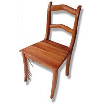 Móveis Em Madeira Maciça - Cadeira Colonial Réplica 2