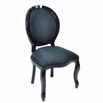 Cadeira Medalhão Lisa S/ Braço - Wood Prime