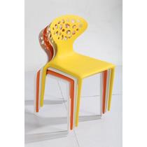 Cadeira Supernatural - Amarela Ou Colorida - Design